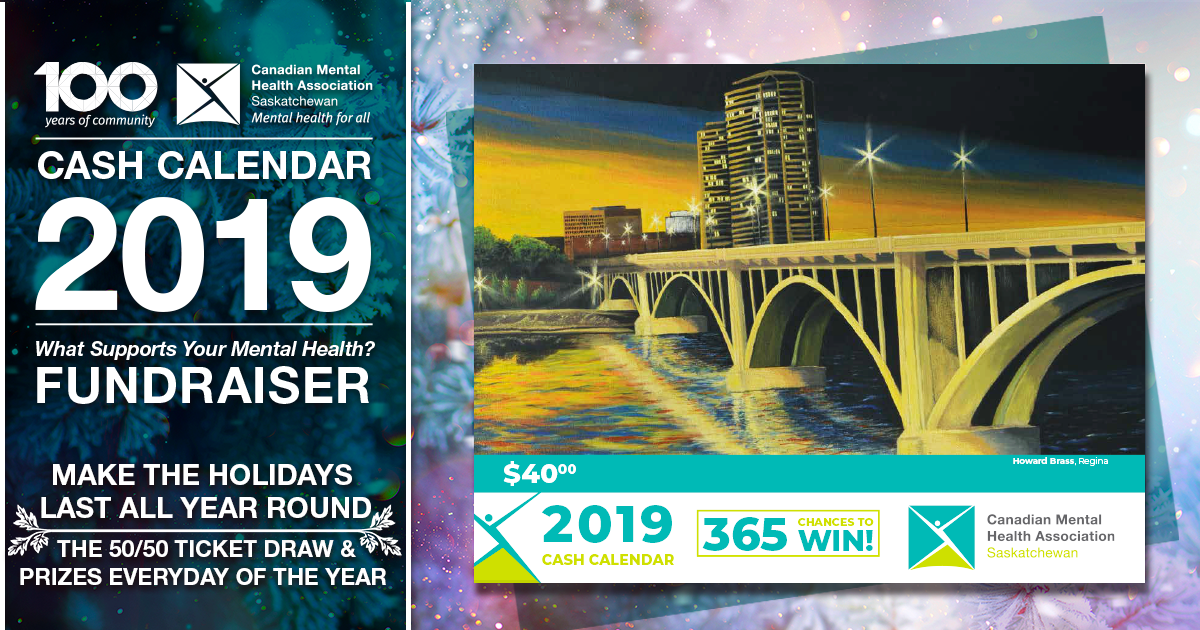 The CMHA Cash Calendar Fundraiser