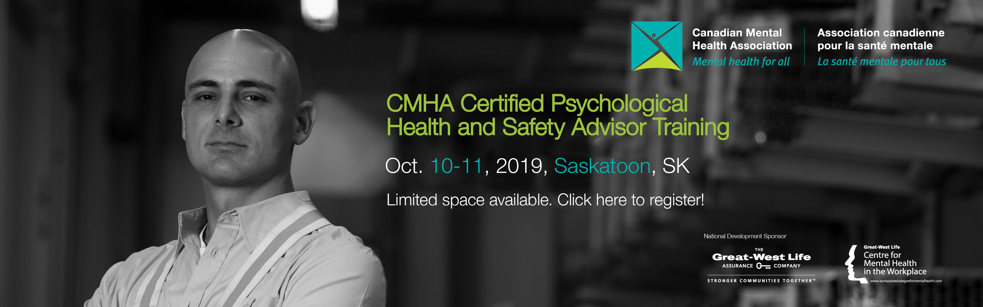 CMHA Certified Psychological Health and Safety Advisor Training