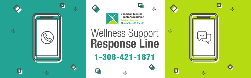 CMHA Wellness Support Response Line Opens!