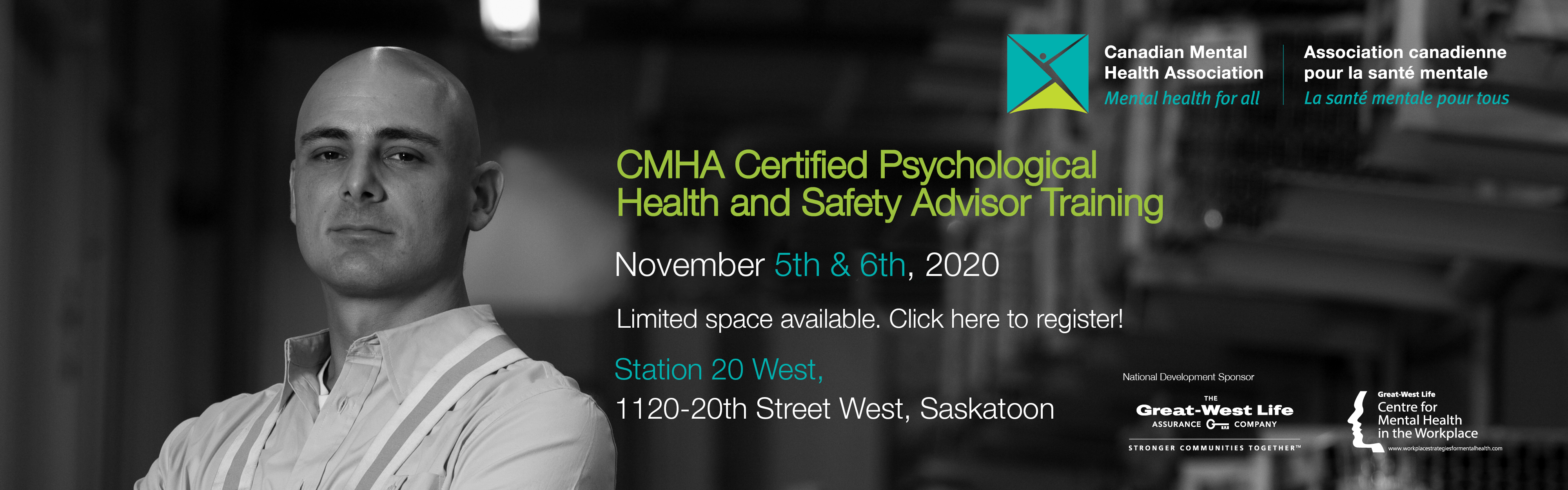 CMHA's Certified Psychological Health and Safety Advisor Training program